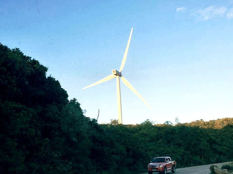 Windmill. 🌬 Wind Windmill Windmills Windmill Of The Day Mountains Mountain View Mountain Windmills #photography Windmillpark Windmillfarm Windmill Fields Showcase: February How Do We Build The World?