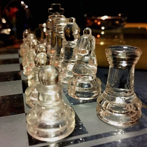 Why the long face?! Glass chessboard Hanging Out Relaxing Hi! Maracay