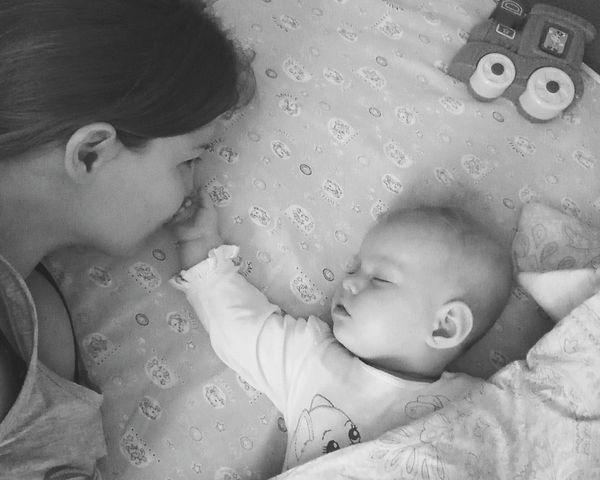 Newborn New Life Sleeping Baby