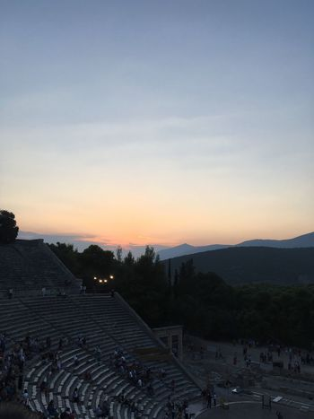 Ancient Theater of Epidaurus ❤️ Summer Views Summer #summertime #sun #TagsForLikes.com #hot #sunny #warm #fun #beautiful #sky #clearskys #season #seasons #instagood #instasummer #photooftheday #nature #TFLers #clearsky #bluesky #vacationtime #weather #summerweather #sunshine #summertimeshine Theater Epidaurus Art Drama Greece Exploring Greece Athens Beauty Love