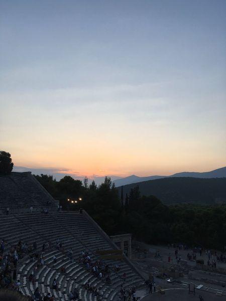 Ancient Theater of Epidaurus ❤️ Summer Views Summer #summertime #sun #TagsForLikes.com #hot #sunny #warm #fun #beautiful #sky #clearskys #season #seasons #instagood #instasummer #photooftheday #nature #TFLers #clearsky #bluesky #vacationtime #weather #summerweather #sunshine #summertimeshine Theater Epidaurus Art Drama Greece Exploring Greece Athens Beauty Love