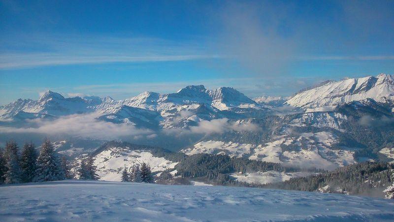 Evasion... Original Experiences EyeEm Landscape Sky Photooftheday Picoftheday France 🇫🇷 Nature Montagnes Hautesavoie Mountains Snow EyeEm Best Shots Memories