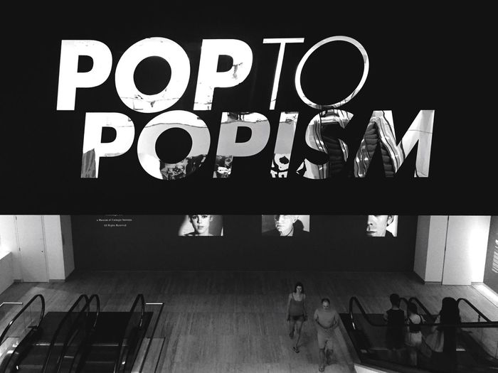 Towards the Pop to Popism exhibition, Art Gallery of NSW. Sydney Blackandwhite Streetphotography