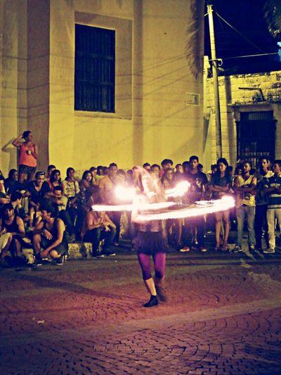 Fire show Streetart Fire Street