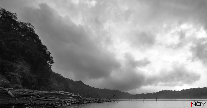 Bali Bali, Indonesia Black And White Blackandwhite EyeEm EyeEm Best Shots EyeEm Black&white! EyeEm Gallery EyeEm Nature Lover Inoy Lake Lake View Landscape Landscape_Collection Landscape_photography Nature Nature_collection Nikon Nikon D5100  Nikonphotography Sky Sky And Clouds Taking Photos Tamblingan Tamblingan Lake