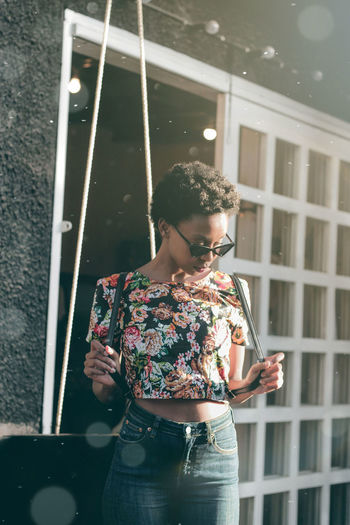 Just a portrait Africa Shootityourself Photography Fashion Portrait EyeEm EyeEm Best Shots Portrait Of A Woman Visual Creativity Beauty Women Young Women Standing Thoughtful Posing