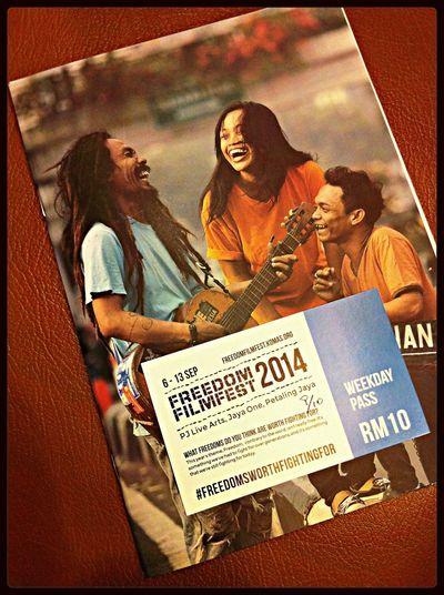 Kuala Lumpur Freedom FilmFest Show Art Filmfest
