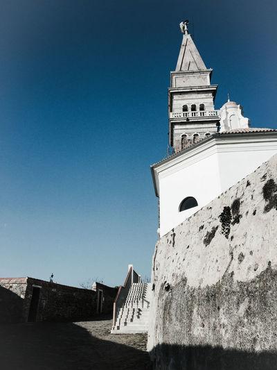 Slovenia Piran Church Stgeorgechapel