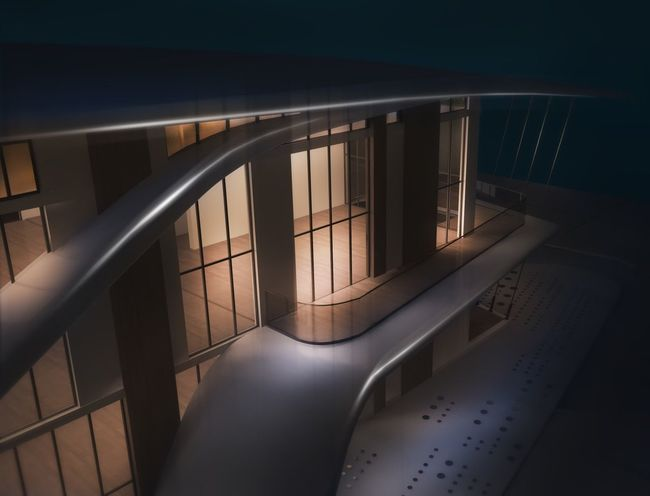 Architecture Design Haus Arhitecture 3D Relaxing Indoors  Night No People дизайн 3d Forest