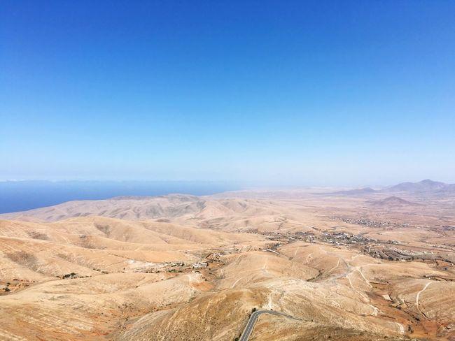 Landscape Scenics Outdoors Fuerteventura Dramatic Landscape Reisen