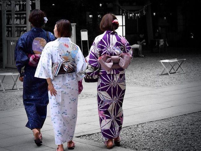 涼… ゆかた Japanese Culture Japanese Traditional 浴衣 Colorsplash