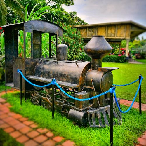 The Ruins - Talisay - Negros Occidental - Philippines Philippines Negrosoccidental  Ruins Train Train - Vehicle Old Old Transport