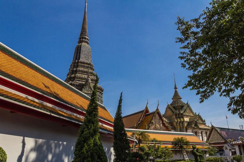 วัดพระเชตุพนวิมลมังคลารามราชวรมหาวิหาร watpho Architecture Thailand Building Exterior Thailandtravel Travel Destinations Outdoors Unseenthailand Watpho Watphobangkok