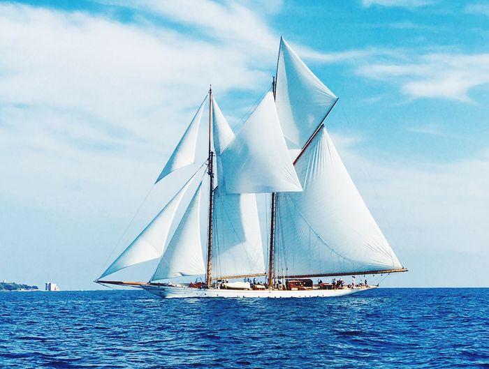 Water Sailboat Sky Nautical Vessel Transportation Sea Mode Of Transportation EyeEmNewHere
