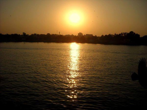 Beautiful Sunset Amazing View Kankaria Lake Gujarat India Awesome_nature_shots Showcase March