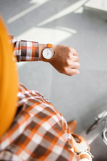 InMakin! Selective Focus Randomness Wristwatch Dressed Up Formalwear One Man Only Shirt Human Hand Colourful Fashion Bright Colors High Angle View Model This Is Masculinity Inner Power