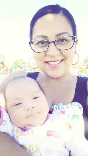 mylittleone and i at the park