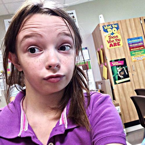 At school!:) At School Chillin At School Haha Me At School;)