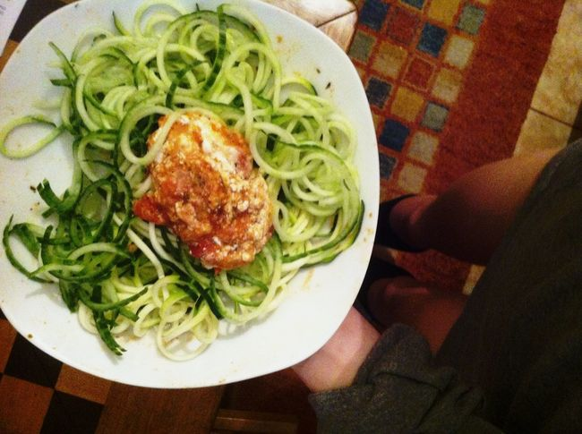 who needs spaghettis when you can have zoodles? Zoodles Vegan Healthy Healthy Food ?