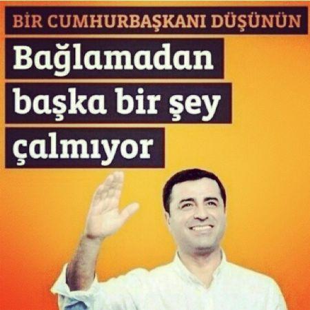 HDP Oyumdemirtaşa Halklarınkardeşliği Bijiselahattin dayatmadan değil, özgürlükten eşitlikten ve halktan yana aday SELAHATTIN DEMIRTAŞ