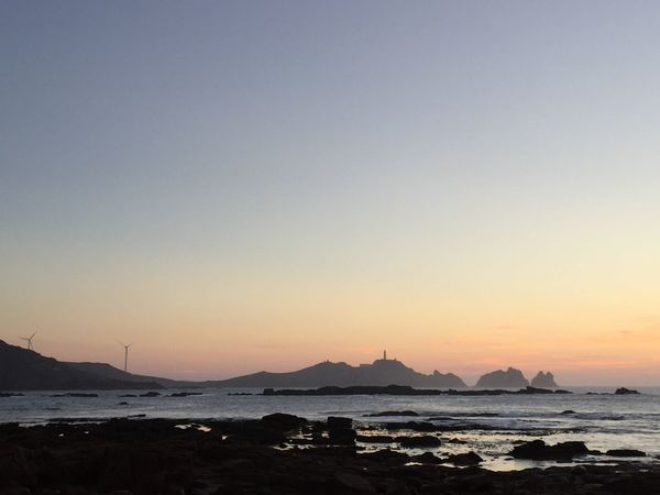 Costa da Morte Sunset Beauty In Nature Sky Ocean