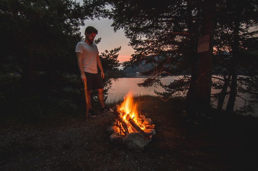 Dolomites, Italy Outdoors Lake Brother Sommergefühle