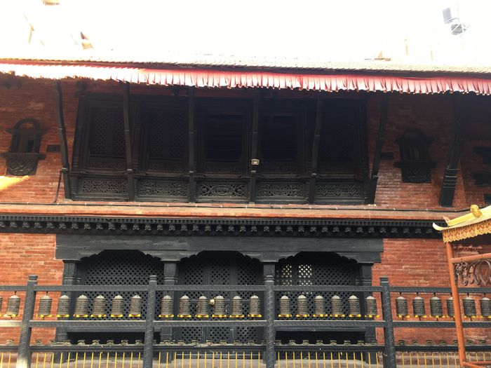 Nepalese Cultural Design Newari Design Wooden Windows Carving In Wood Carved Goddes Buddhist Temple