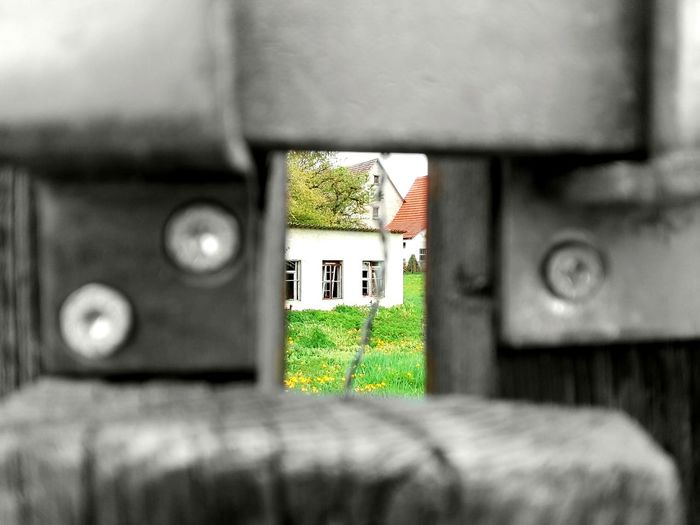 World behind closed doors World Behind Doors Architecture Built Structure Selective Focus Building Exterior Outdoors Architecture Generic Architecture Old House Abandoned House Abandoned Places German House Germany Behind Doors