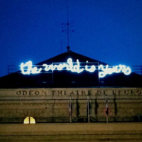 All The Neon Lights Neon Lights Paris Alltheworldisyours France