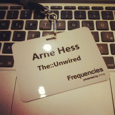 """Because I was asked what I'm doing in Seattle. Well, I'm here at HTC for the """"Frequencies"""" conference. #HTC #Freqs HTC Freqs"""