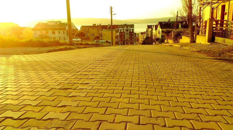Sokakları Denize çıkan şehir çanakkale çanakkale Aşığı Gün Batımı