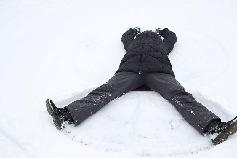 Winterfun Snow Day Snowangel Funtimes Playing In The Snow Finland February