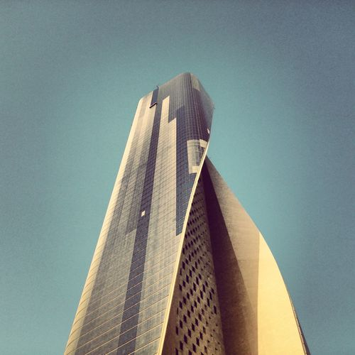 the bigger you are, Kuwait غبار EyeEm Hamra Tower