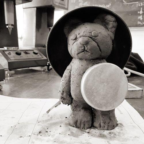 土力学实验课上的小泥熊 First Eyeem Photo