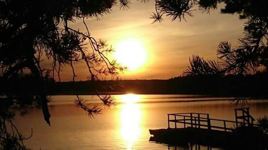 Sunset Sea And