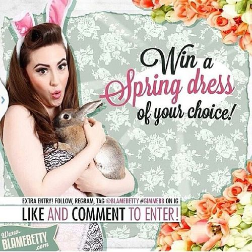 I want! I want! A spring dress to start off the spring season :) @blamebetty Gimmebb