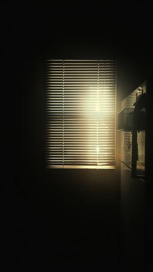 Window Indoors  Darkroom Simplicity Dark Blinds No People Sunlight And Shadow Sunlight Sunlight ☀ Morning Light Morning