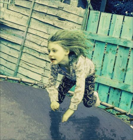 Check This Out Jumping Children Photography Let Your Hair Down Girl Casual Clothing My Favorite Photo Windswept Taking Photos Editing Effects & Filters Eyem Gallery Family People Photography Daugther Eye4photography