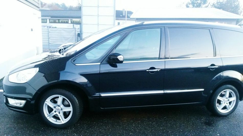 Car Land Vehicle Transportation Outdoors Day Clean Car FORD Galaxy Black