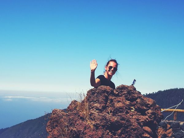 Summer ☀ Wanderlust Hi! Sister ❤ enjoying life Canary Islands Relaxing Sky Tenerife Teide Teide National Park Teide Volcano