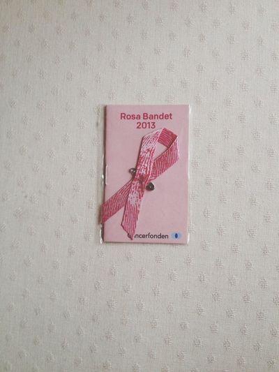 Stödj Cancerfonden Rosabandet