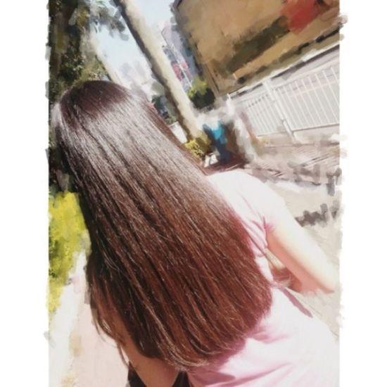 That's Me Long Hair Hair O_o为嘛没染过的头发越长越棕o( =•ω•= )m