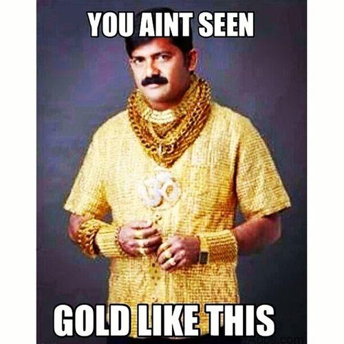 Hustler Gold Flossy