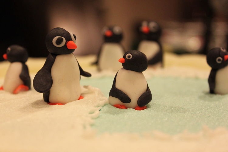 Cake Decorating Cake Decoration Close-up Creativity Fresh On Eyeem  Little Penguins The Week On EyeEm Focus Object