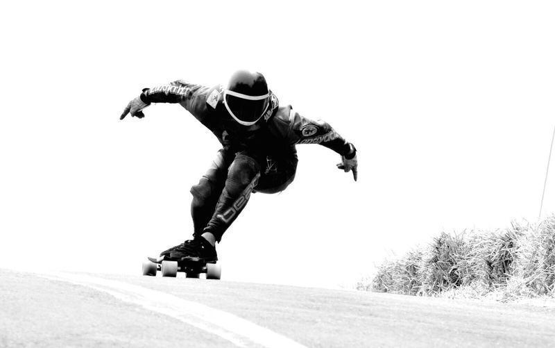 Motion Monochrome Photography Skateboarding Sport Lifestyles Extreme Sports Speed Illuminated Downhillskateboarding Downhillspeed