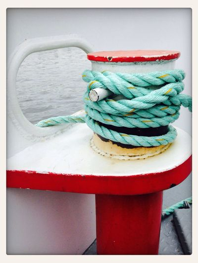 On A Boat Knot Rope