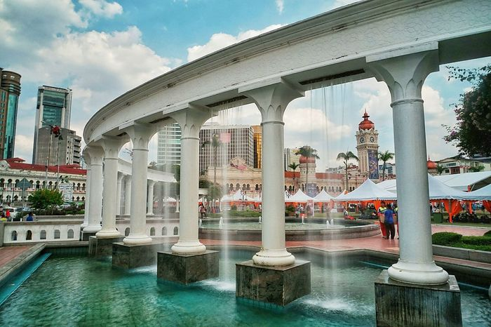 Arch Architectural Column Architecture Architecture Architecture_collection Built Structure Freedom Square  Pillar Urban Design Urban Landscape Waterfall