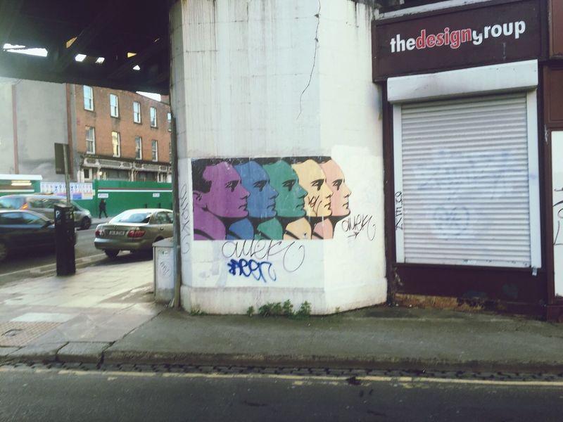 Brutalism Graffiti Revolution Revolutionary Padraig Pearse 1916 Rising Talking Heads