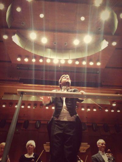 The Slovakian conductor, Juraj Valčuha, in his New York Philharmonic debut