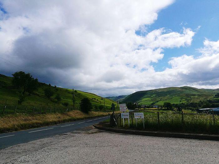 Tebay Cumbria Landscape View Green
